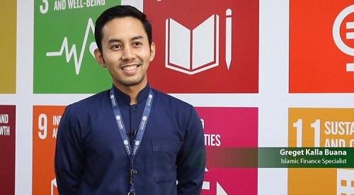 Greget, Dulu Bakti Nusa, Sekarang Staf Ahli UNDP
