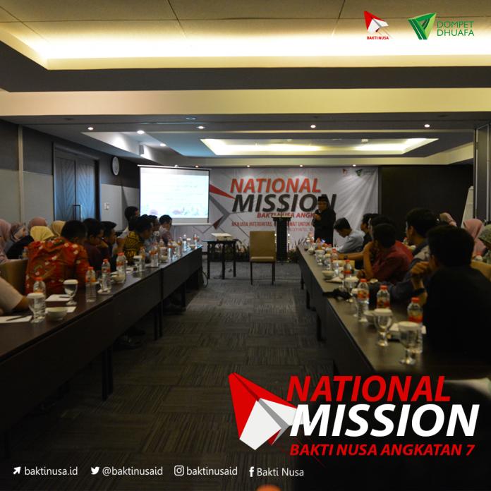 National Mission BAKTI NUSA 2019 Kukuhkan Pemuda sebagai Agen Perubahan