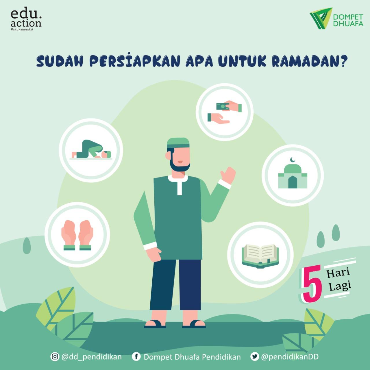 Jangan Sampai Meleng, 5 Langkah Ramadan Berkah