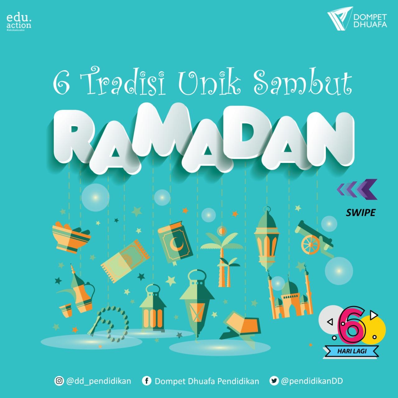 Pokoknya Seru! Ramadan Begini Cuma Punya Indonesia