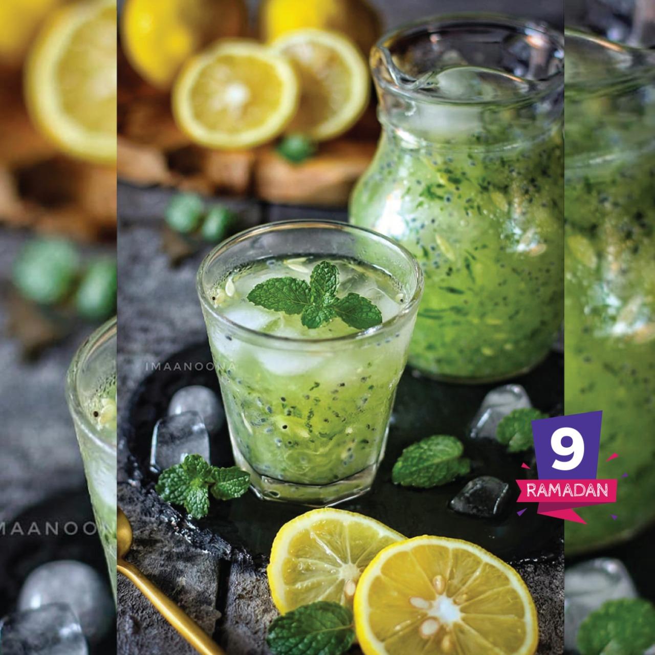 Timun Lemon Selasih Segher
