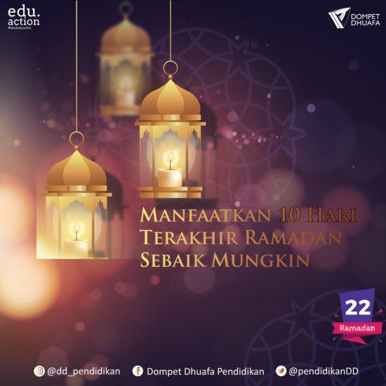 Lakukan 5 Hal Ini di 10 Terakhir Ramadan