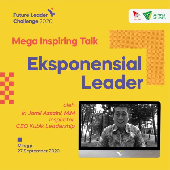 Future Leader Challenge 2020 Ajak Pemuda Menjadi Pemimpin yang Disruptif di Era Disrupsi