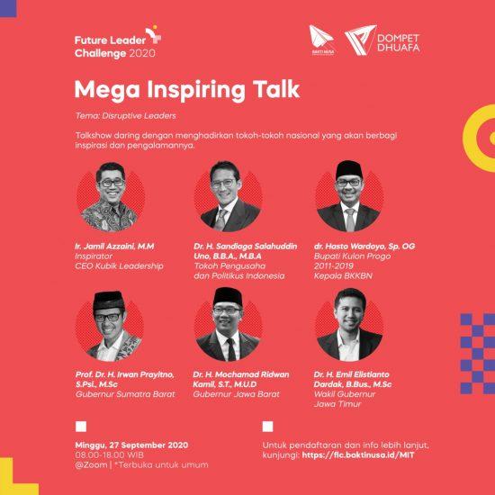 Future Leader Challenge 2020 Bangkitkan Semangat Disruptive Leaders Pemuda Indonesia
