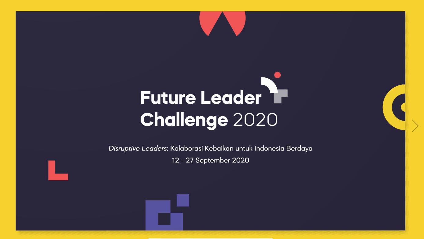 Wadahi Pemuda Pemantik Kemajuan, BAKTI NUSA Gelar Future Leader Challenge (FLC) 2020
