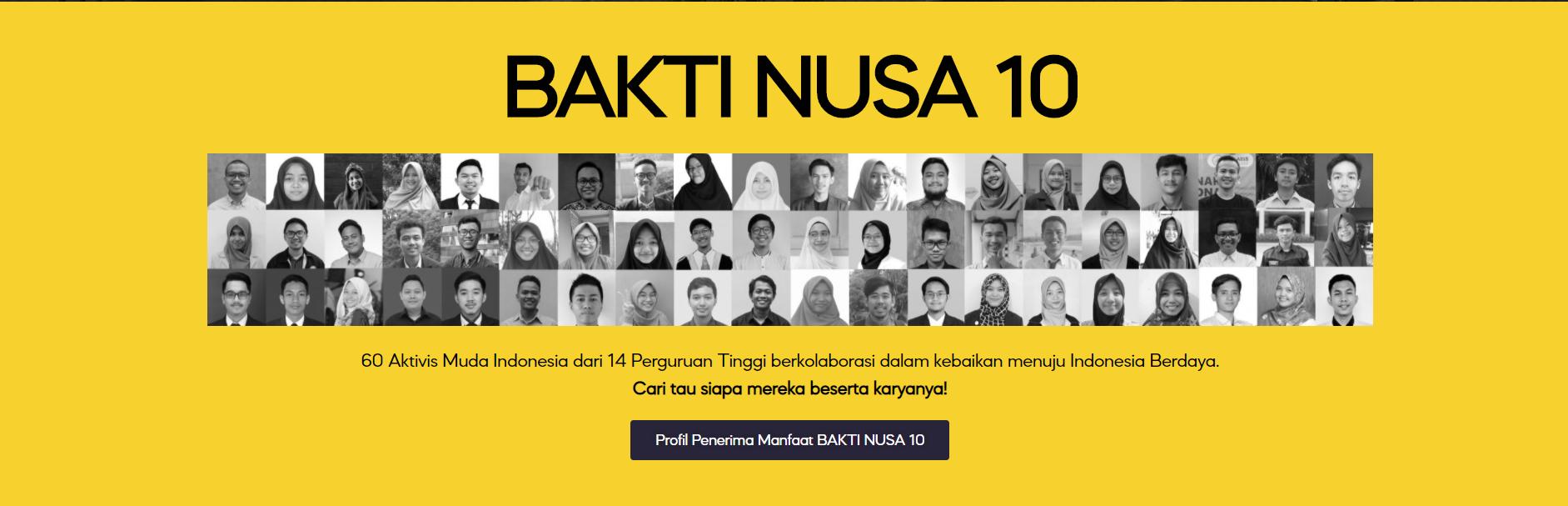 Future Leader Challenge (FLC) 2020 Resmi Dibuka, 60 Aktivis Mahasiswa Siap Menjadi Pemimpin Milenial