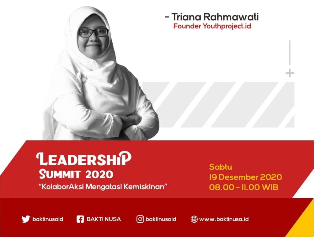 Pemuda Diajak Kenali Diri untuk Berdaya Urai Kemiskinan di Leadership Summit 2020