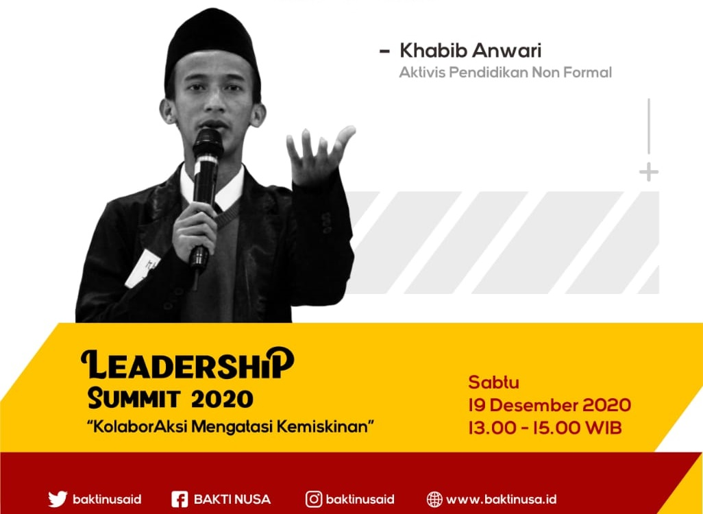 """Khabib Anwari: """"Saatnya Optimalisasi Kemampuan Pemuda Desa!"""" dalam Leadership Summit 2020"""