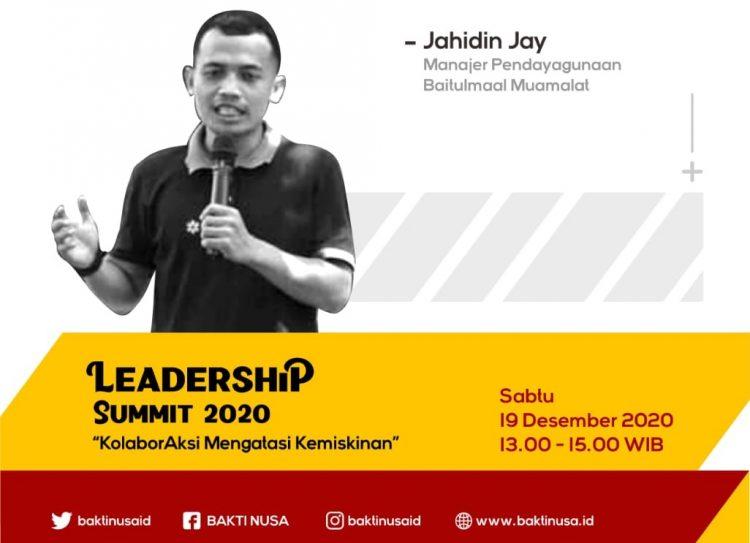 Leadership Summit 2020 Yakini Pemuda Mampu Mengubah Ekonomi Melalui Zakat