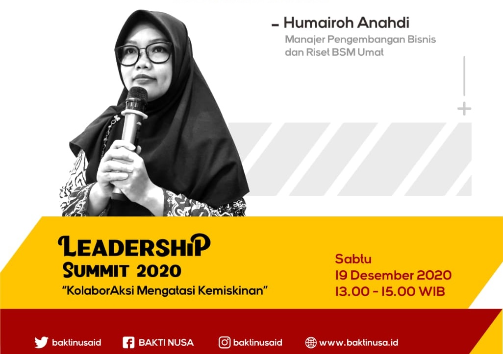 Leadership Summit 2020 Kenalkan Pemberdayaan  Masyarakat Berbasis Ekonomi Syariah dari Zakat