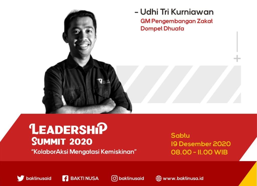 Leadership Summit 2020 Kuatkan Gagasan Program Pemuda Entaskan Kemiskinan