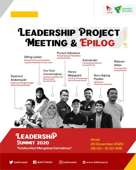 Lahirkan Program Rintisan Terbaik, Leadership Summit Optimis Ubah Perwajahan Indonesia