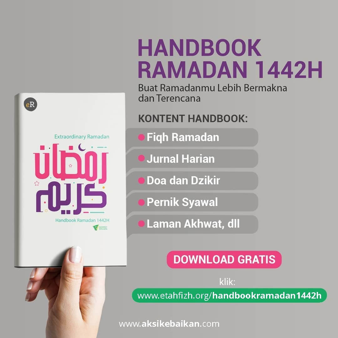 Unduh yang Berfaedah, Unduh Handbook Ramadan 1442H