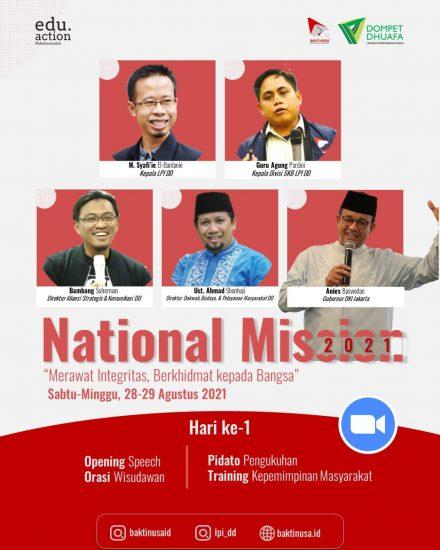 BAKTI NUSA Siap Lepas 57 Penerima Manfaatnya dalam National Mission