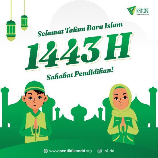 Selamat Tahun Baru Islam 1443 Hijriah!