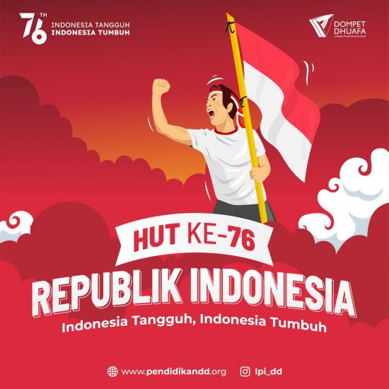 HUT Ke-76 Republik Indonesia The Leaders!