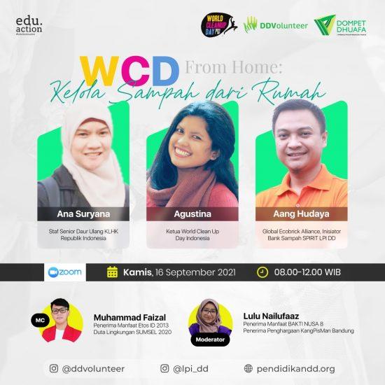 WCD 2021, Aksi Nyata LPI DD dan DD Volunteer Menjaga Lingkungan